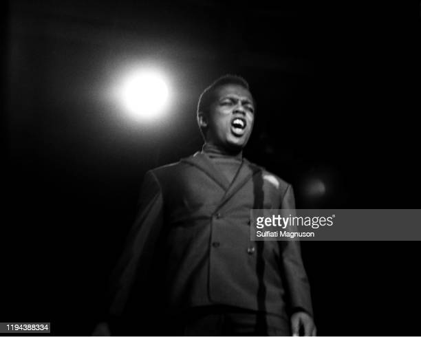 Lou Rawls, an award winning R&B-soul vocalist, was performed on the opening night at The Monterey International Pop Festival.