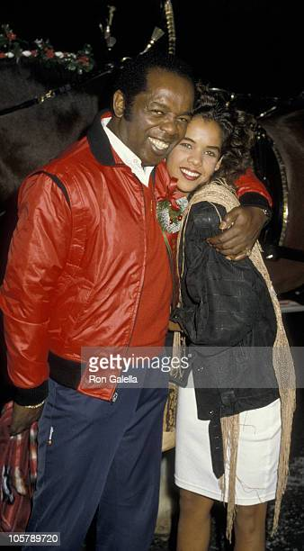 Lou Rawls and Louanna Rawls during 55th Annual Hollywood Christmas Parade at Hollywood in Hollywood, California, United States.