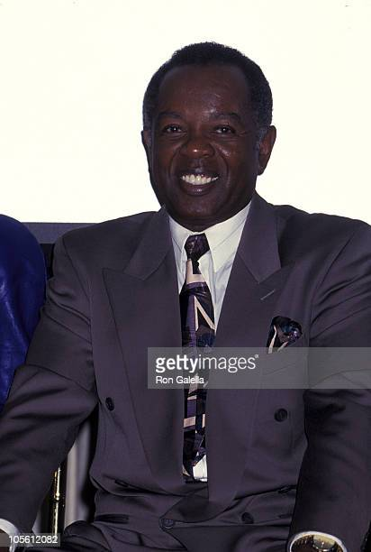 """Lou Rawls during """"Baywatch Nights"""" Press Conference at Pennsula Hotel in Beverly Hills, California, United States."""