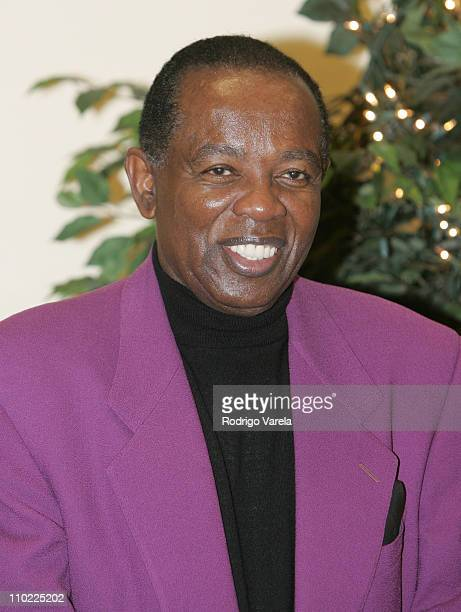 Lou Rawls during Lou Rawls Center for the Performing Arts Opens at Florida Memorial College at Florida Memorial College in Miami, Florida, United...