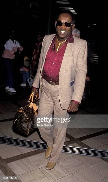 Lou Rawls during Lou Rawls Sighting at Los Angeles International Airport - April 12, 1993 at Los Angeles International Airport in Los Angeles,...