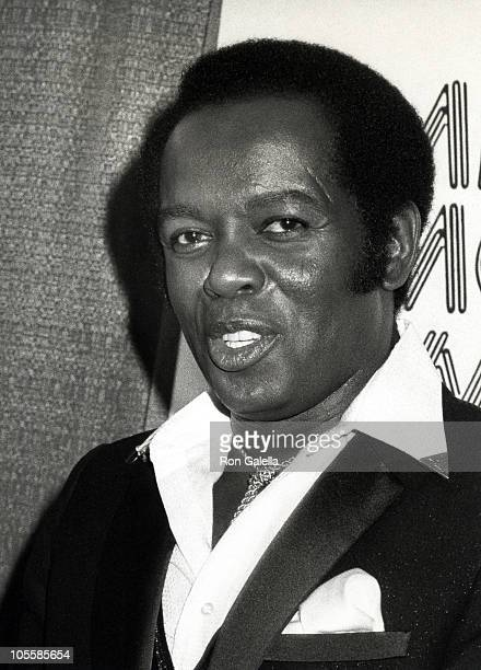 Lou Rawls during National Association of Theater Owners American Movie Awards at Palace Theater in Hollywood, California, United States.