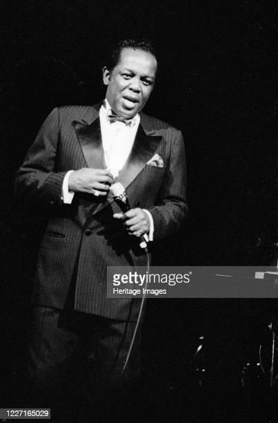 Lou Rawls, Royal Albert Hall, London, 02.90. Artist Brian O'Connor.