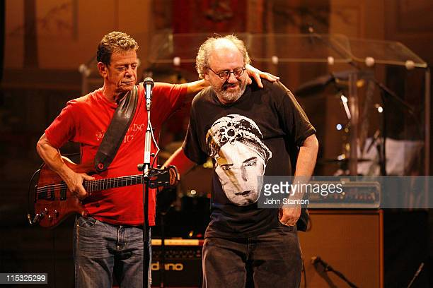Lou Reed and Hal Willner during Lou Reed's Berlin Photocall January 18 2007 at State Theatre in Sydney NSW Australia