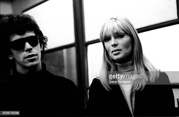 Lou Reed and Nico at Scepter Studios during the recording of the first Velvet Underground album
