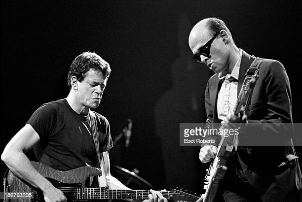 Lou Reed and Robert Quine performing at the Beacon Theater in New York City on October 18 1984