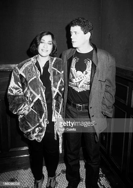 Sylvia Morales Lou Reed Pictures and Photos - Getty Images