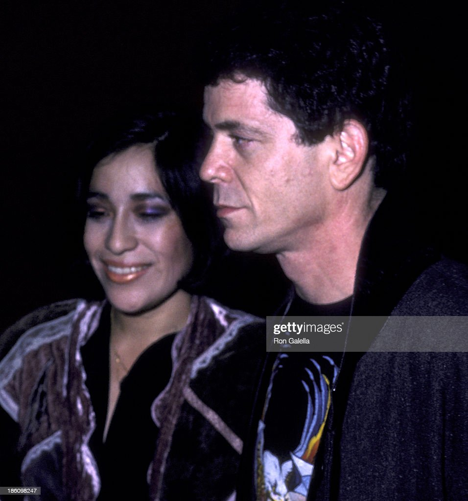 lou reed and wife sylvia morales attend lou reed concert