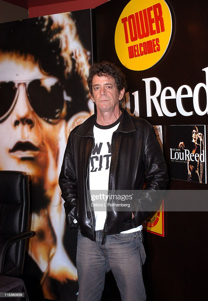 "Lou Reed In-Store Signing of ""The Raven"" and ""NYC Man: the Collection"""