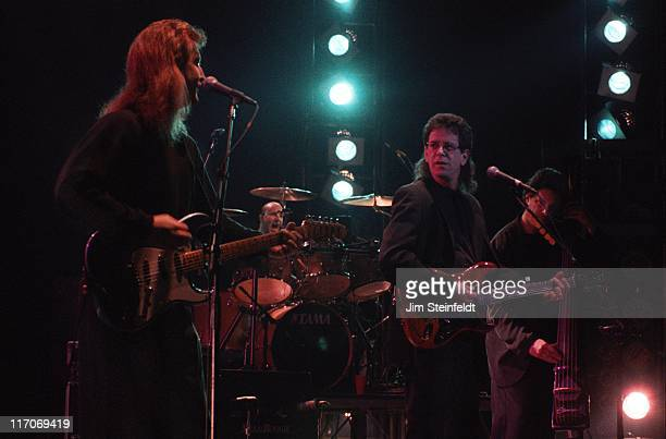 Lou Reed performs at the Orpheum Theatre in Minneapolis Minnesota on April 7 1988