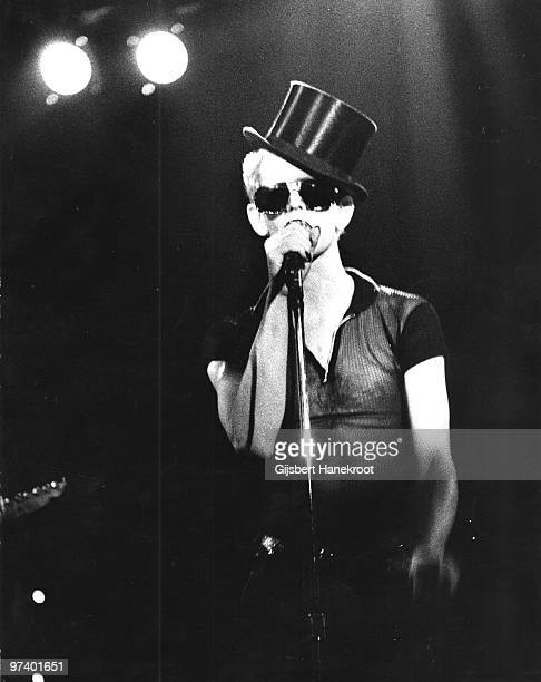 Lou Reed performs live on stage at the Carre Theatre in Amsterdam Netherlands in 1974