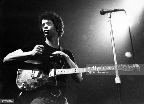 Lou Reed performs live on stage at The Carre Theatre in Amsterdam Netherlands on March 09 1975