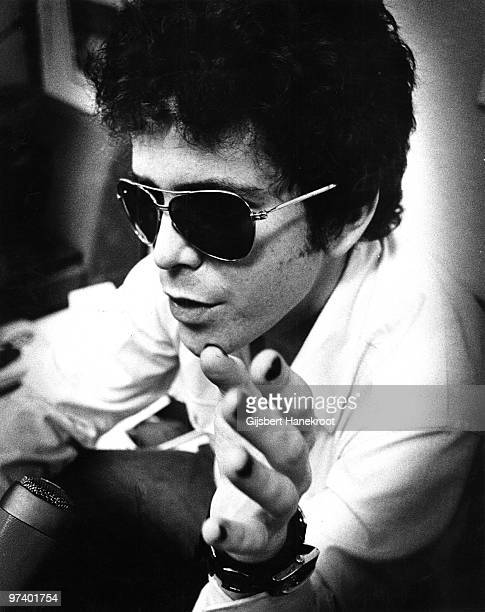 Lou Reed posed in Amsterdam Netherlands in March 1975
