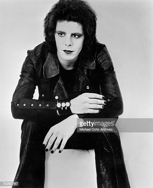 Lou Reed poses for an RCA publicity photo circa 1973 in New York City New York