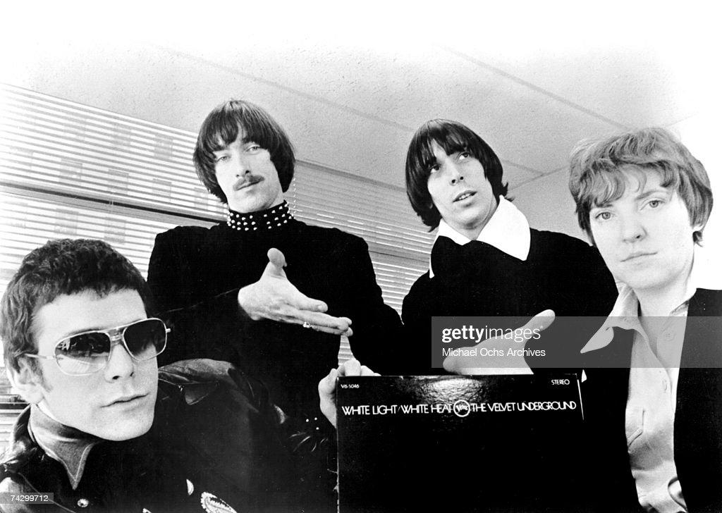 'Velvet Underground' Portrait : News Photo