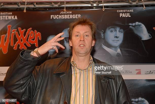 Lou Richter FilmPremiere KinoFilm Neues vom Wixxer und GeburtstagsEmpfang J o a c h i m F u c h s b e r g e r München Bayern Deutschland Europa Kino...