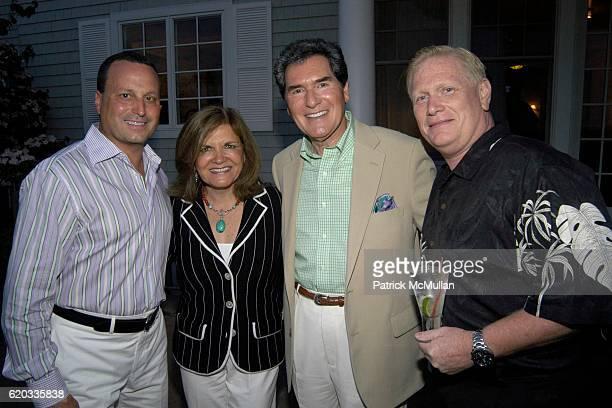 Lou Ruggiero Kelly Anastos Ernie Anastos and Jay McNamee attend Rosanna Scotto's Birthday at Southampton on June 20 2008 in Southampton New York