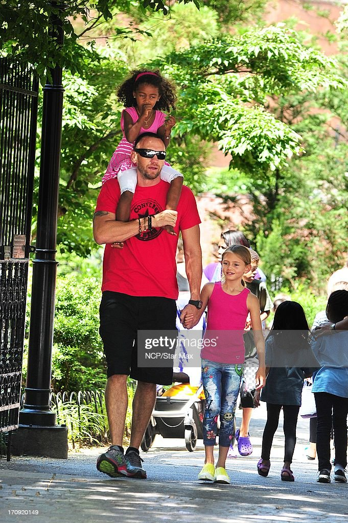 Lou Samuel, Martin Kristen and Leni Samuel as seen on June 19, 2013 in New York City.