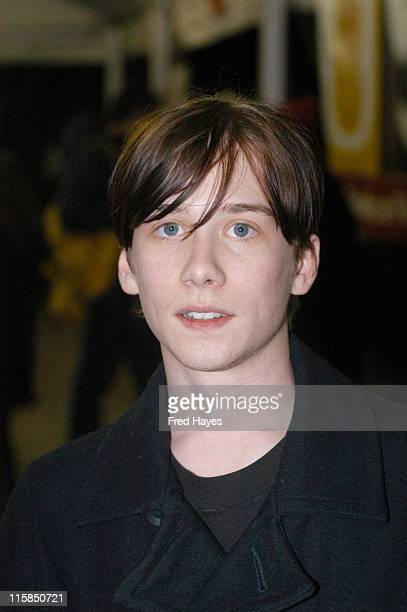 Lou Taylor Pucci during 2005 Sundance Film Festival 'The Chumscrubber' Premiere at Eccles Theatre in Park City Utah United States