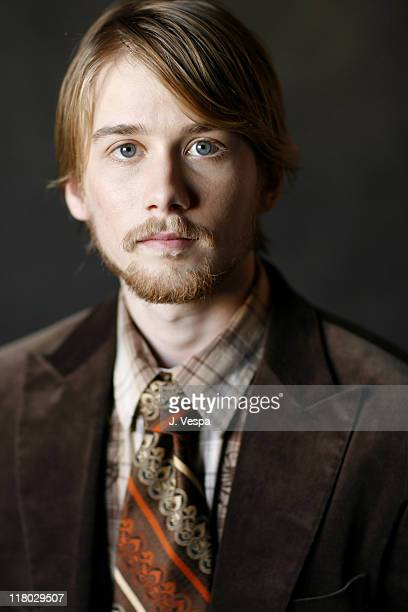 Lou Taylor Pucci during 2007 Sundance Film Festival 'The GoGetter' Portraits at Delta Sky Lodge in Park City Utah United States