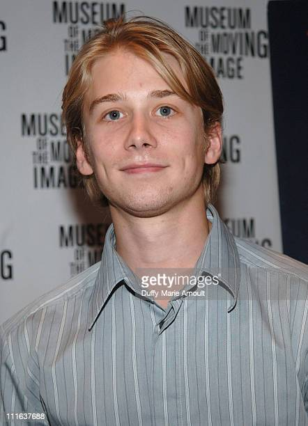 Lou Taylor Pucci during 'Fast Food Nation' New York City Premiere at Museum of the Moving Image in New York City New York United States