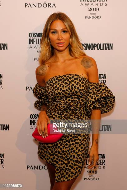 Lou Teasdale at this year's Cosmopolitan Influencer Awards with PANDORA on May 28 2019 in London England