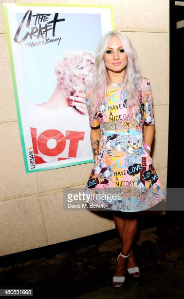 Lou Teasdale attends the Fudge Urban Lou Teasdale Book Launch party on March 25 2014 in London United Kingdom