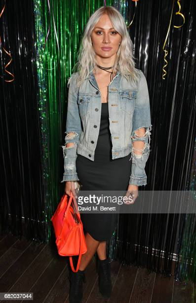 Lou Teasdale attends the launch of The Curtain in Shoreditch on May 11 2017 in London England
