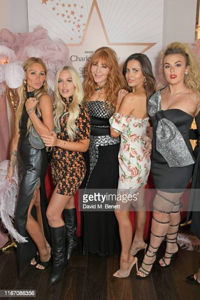 Lou Teasdale Lottie Tomlinson Charlotte Tilbury Sophia Smith and Tallia Storm attend the premiere party for the launch of awardwinning brand...