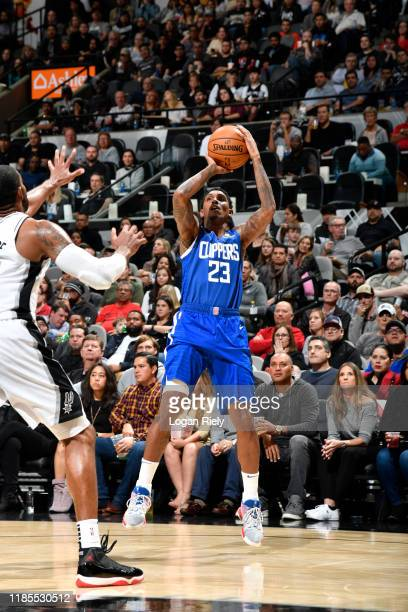 Lou Williams of the LA Clippers shoots the ball against the San Antonio Spurs on November 29 2019 at the ATT Center in San Antonio Texas NOTE TO USER...