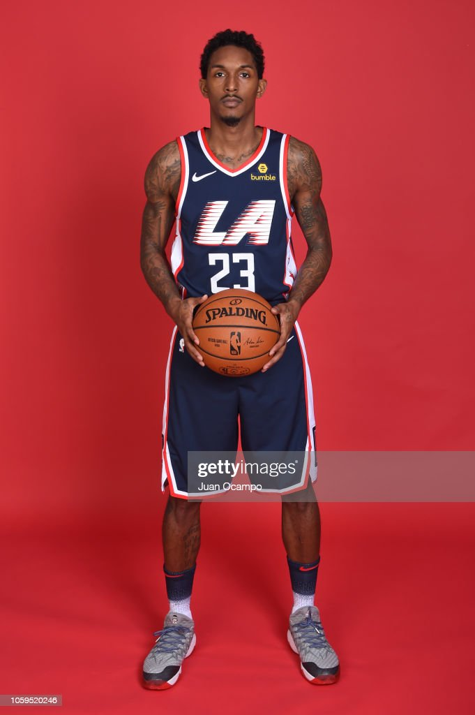 free shipping 7072f e13ec Lou Williams of the Los Angeles Clippers poses for a ...