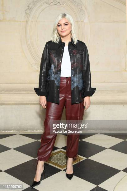 Louane attends the Christian Dior show as part of the Paris Fashion Week Womenswear Fall/Winter 2019/2020 on February 26, 2019 in Paris, France.