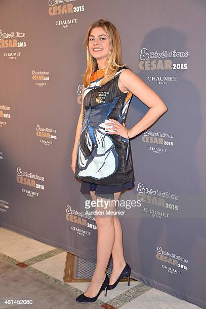 Louane Emera attends the 'Cesar - Revelations 2015' Dinner at Hotel Le Meurice on January 12, 2015 in Paris, France.