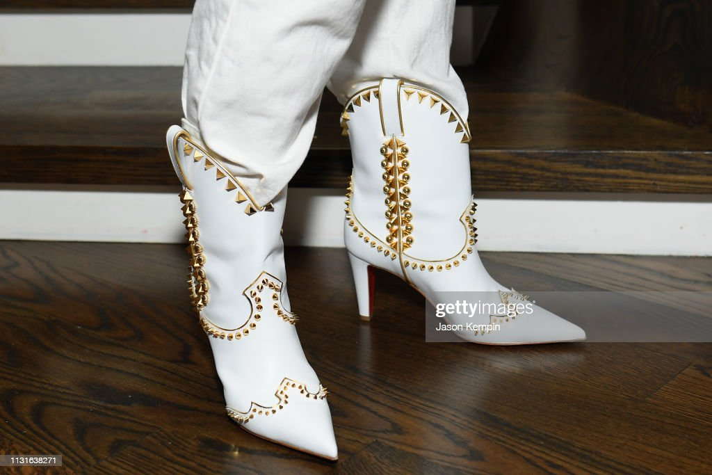 Louboutin Shoes Seen During An Intimate Evening Hosted By Nordstrom