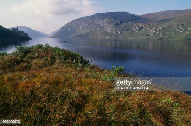 Lough Beagh part of Glenveagh National Park County Donegal Ireland
