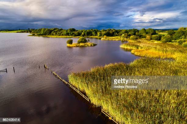 lough erne, northern ireland - lough erne stock photos and pictures