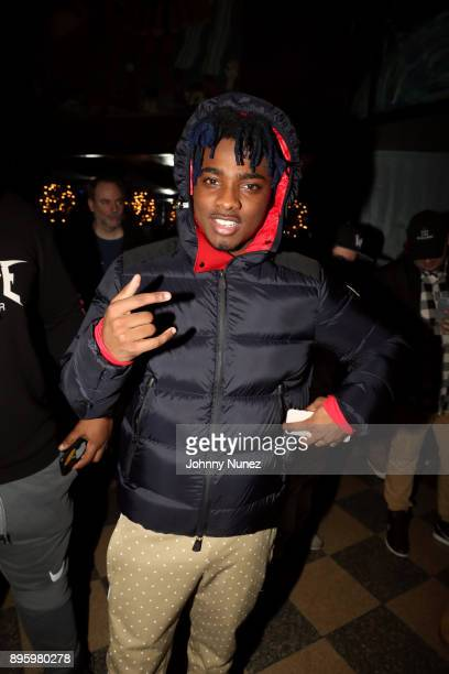 Lougotcash attends the 13 Sins Album Release Party at SOB's on December 19 2017 in New York City