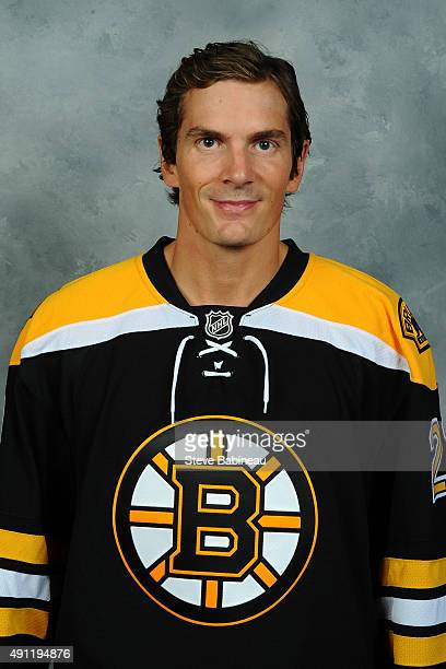 Loui Eriksson of the Boston Bruins poses for his official headshot for the 20152016 season on September 19 2015 at the TD Garden in Boston...