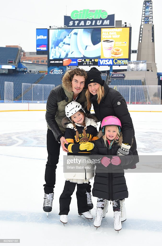 on sale 9b846 d3660 Loui Eriksson of the Boston Bruins skates during the Family ...