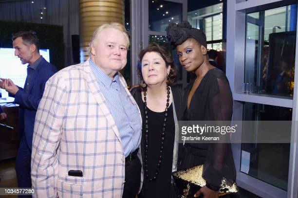 Louie Anderson Margo Martindale and Adina Porter attend FX Networks celebration of their Emmy nominees in partnership with Vanity Fair at Craft on...