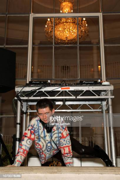 Louie Banks attends Rankin Unfashionable 30 Years Of Fashion Photography hosted by Jefferson Hack Katie Grand Sharan Pasricha at Ennismore Session...