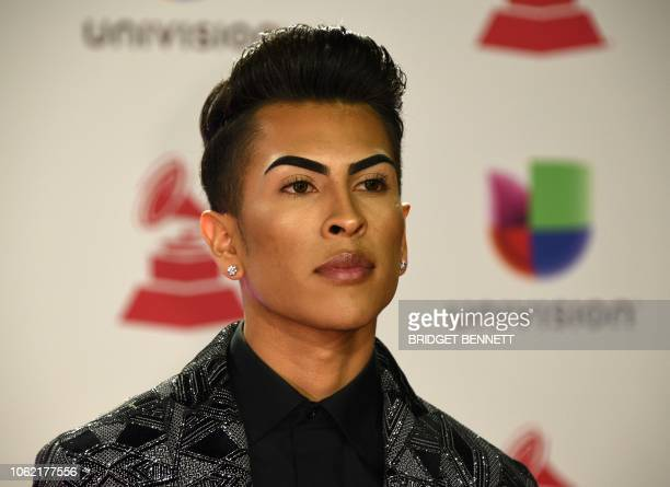 Louie Castro arrives at the 19th Annual Latin Grammy Awards in Las Vegas Nevada on November 15 2018