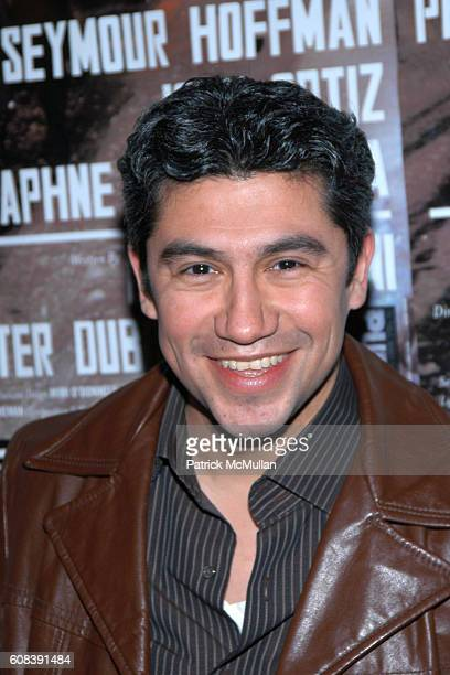 Louie Castro attends JACK GOES BOATING Presented by LAByrinth Theater Company AfterParty at B Bar on March 18 2007 in New York City