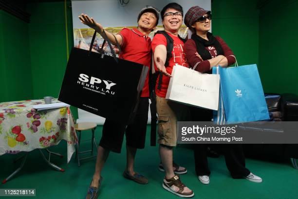 Louie Castro Hanjin Tan and Chik Meichun who are cast members of Shrimp Crazy Family stage show ǃˆv—v® reunion of the sitcom from TVBǃˆv—v•s Enjoy...