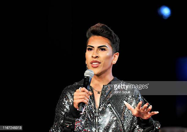 Louie Castro speaks onstage during Beautycon Festival Los Angeles 2019 at Los Angeles Convention Center on August 10 2019 in Los Angeles California