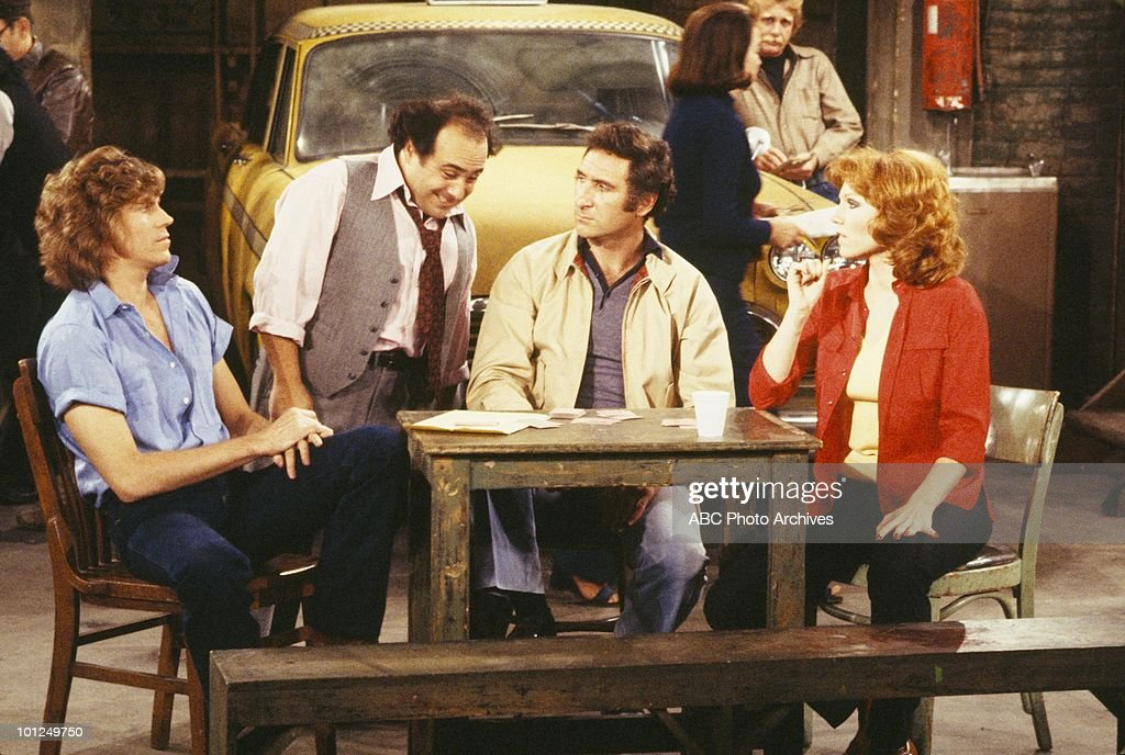 TAXI - 'Louie Meets the Folks' and 'Fantasy Borough' - Airdate Decamber 11, 1979 and May 6, 1980. (Photo by ABC Photo Archives/ABC via Getty Images) JEFF