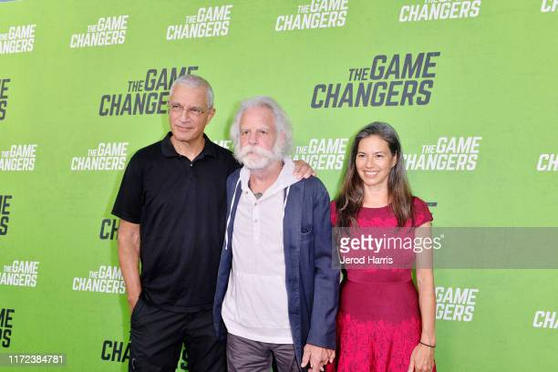 Louie Psihoyos Bob Weir and Natascha Muenter arrive at the LA Premiere of 'The Game Changers' at ArcLight Hollywood on September 04 2019 in Hollywood...