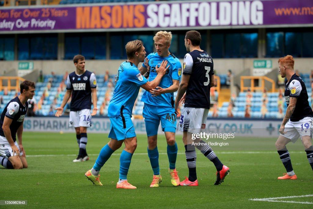 Millwall v Derby County - Sky Bet Championship : News Photo