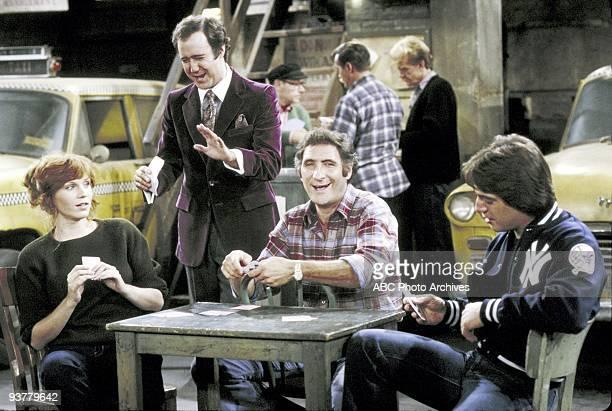 TAXI Louie's Fling Season Four 1/5/81 A drunken Louie was seduced by Zena's friend Emily Marilu Henner Andy Kaufman Judd Hirsch and Tony Danza starred