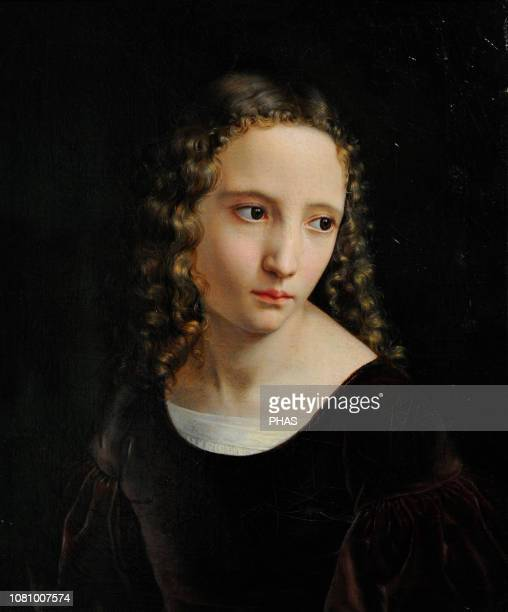Louis Ammy Blanc German painter Portrait of a young girl 1835 WallrafRichartz Museum Cologne Germany